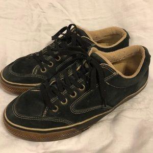 Converse Blue Suede Shoes
